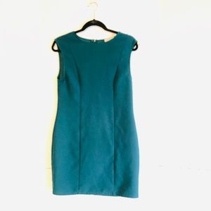 Everly Anthropology Teal Dress